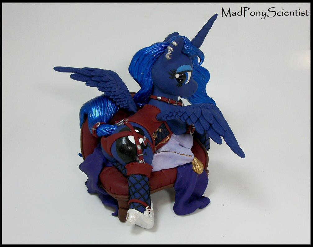 Princess Luna custom sculpture commission by MadPonyScientist