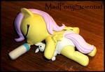 Baby Fluttershy  Mane 6 WIP by MadPonyScientist