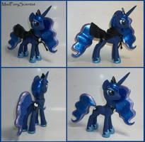 Princess Luna 3 by MadPonyScientist