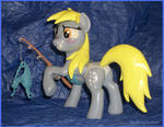 Fishing Derpy Copperpony