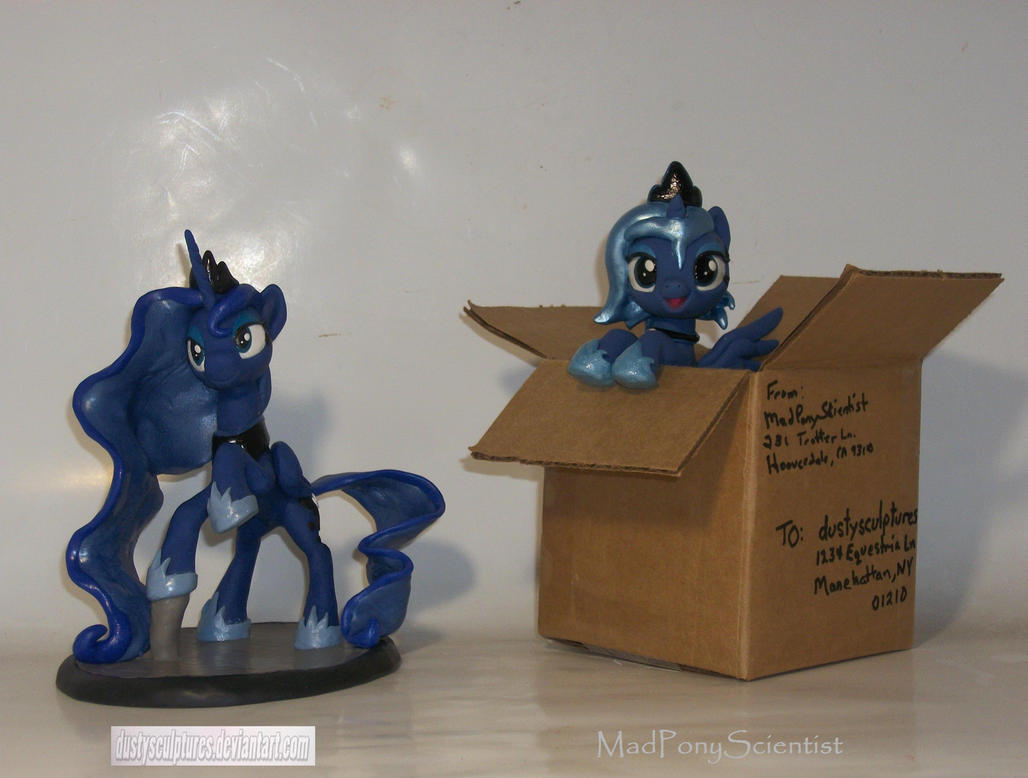 Luna's New Home by MadPonyScientist