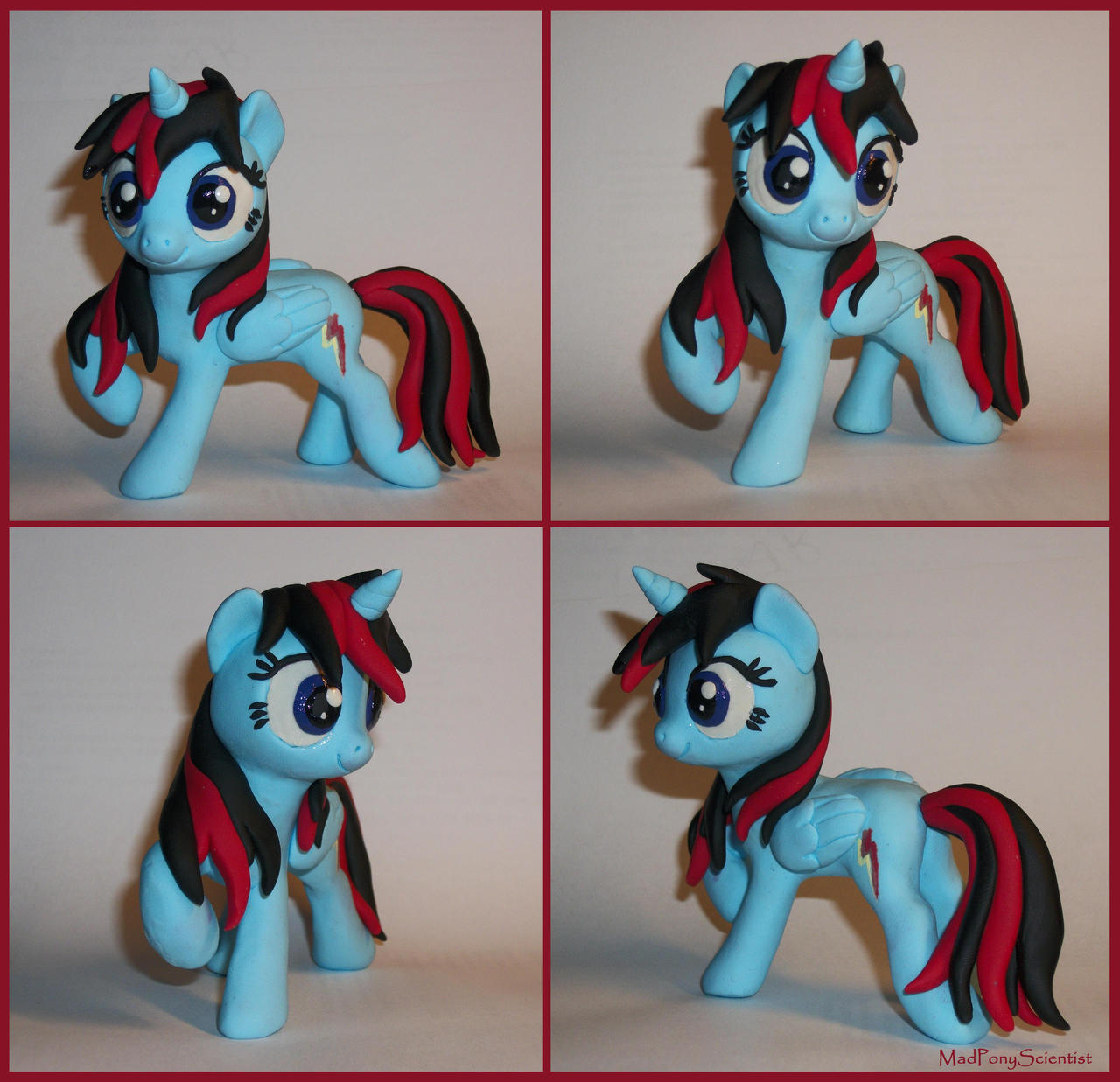 Ponysculptors 1st Pony giveaway prize 2 by MadPonyScientist