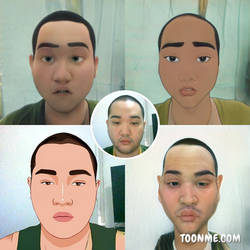 Toon Me Face Revealed
