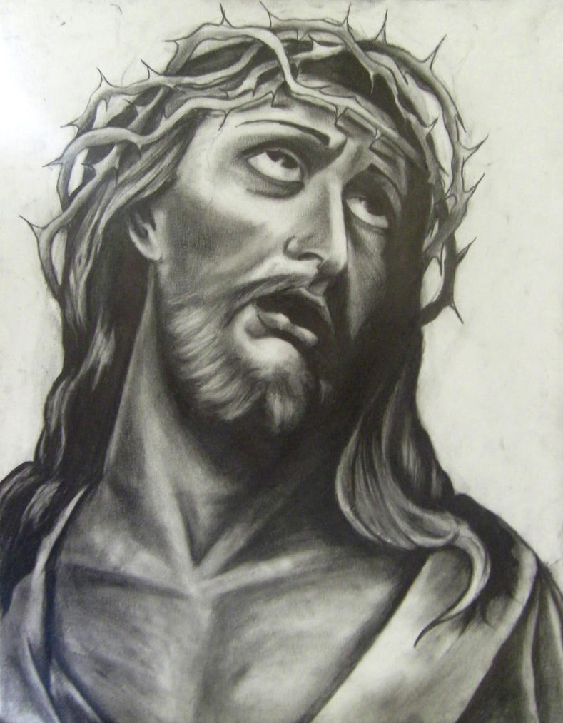 How To Draw Face Of Jesus