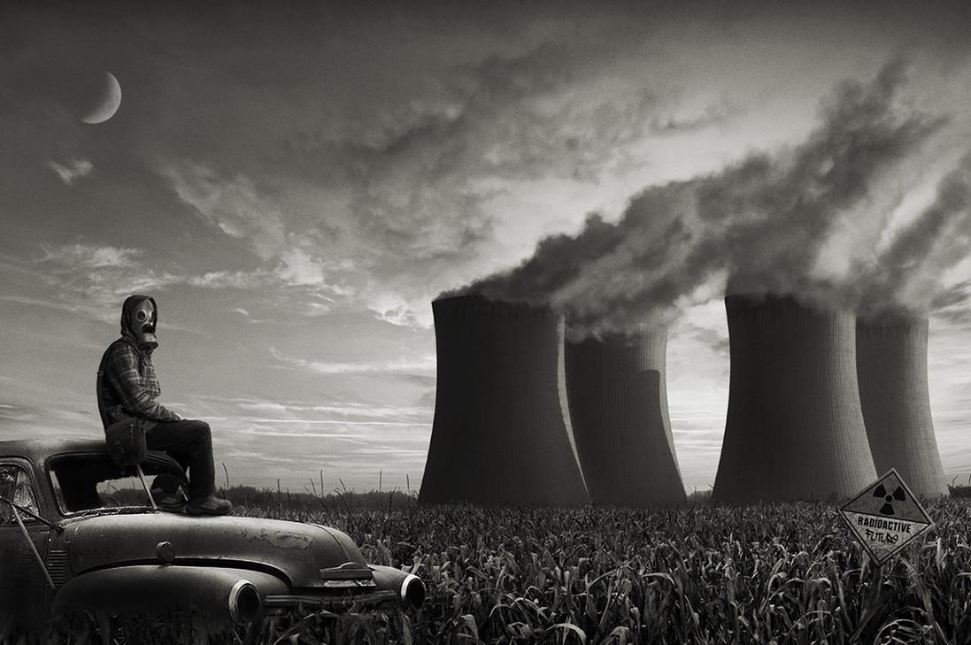 Radioactive Future by shadothezombie