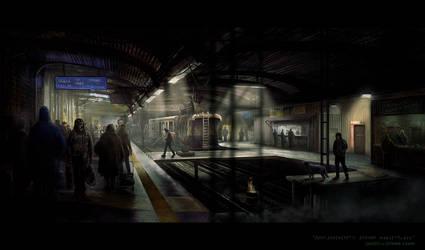 Underground Marketplace by nikolayhranov