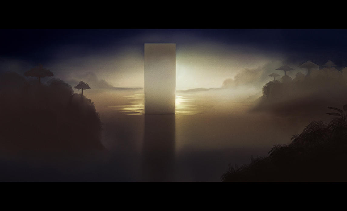 The Monolith speedpaint by shadothezombie