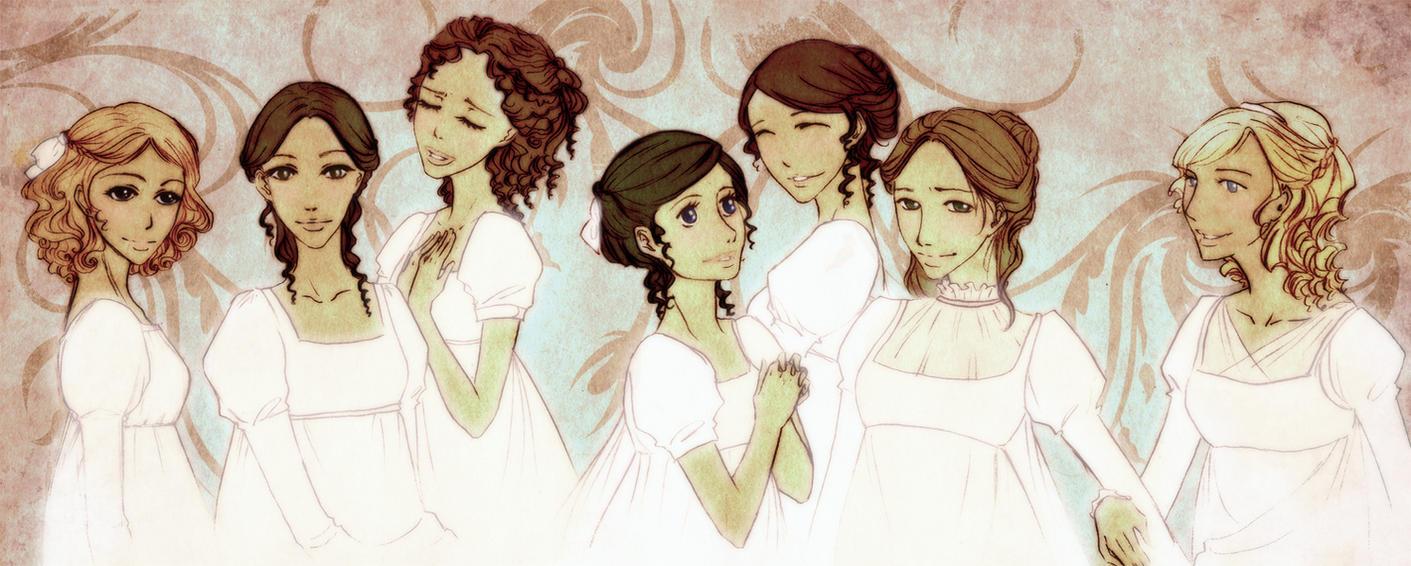 Austen girls by palnk
