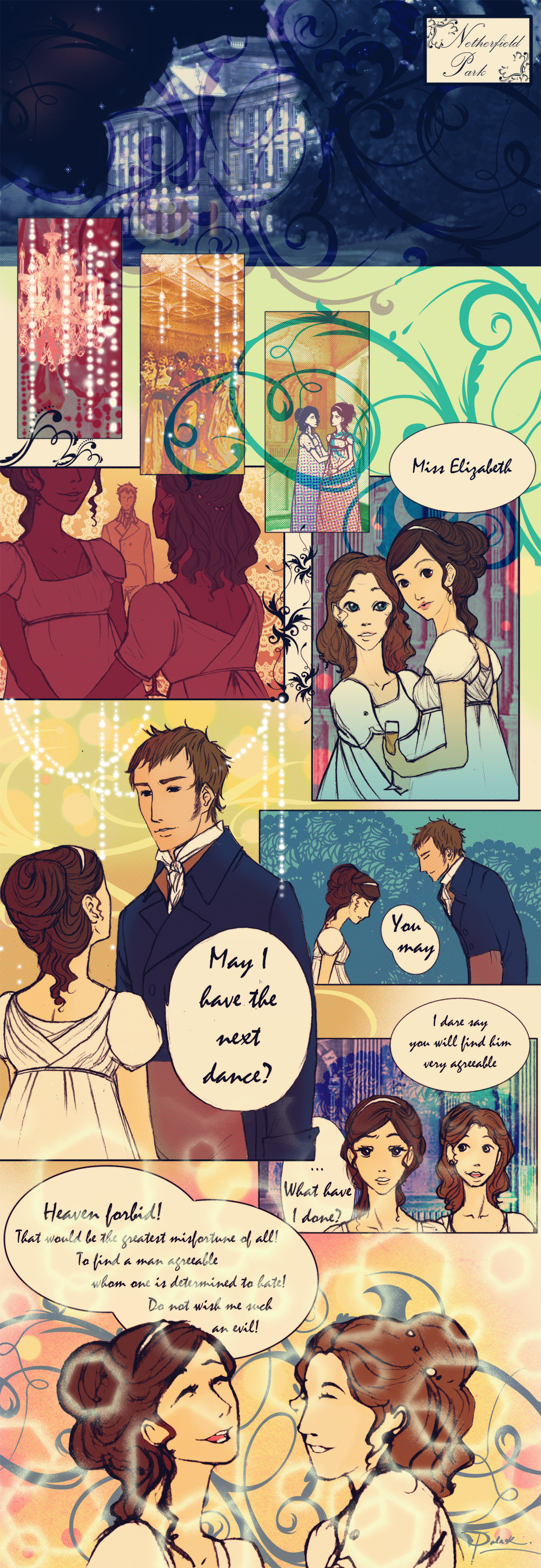 Netherfield Ball Scene page 1