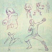 Avatar sketchdump 4 by palnk