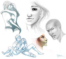 Digital Sketches by palnk