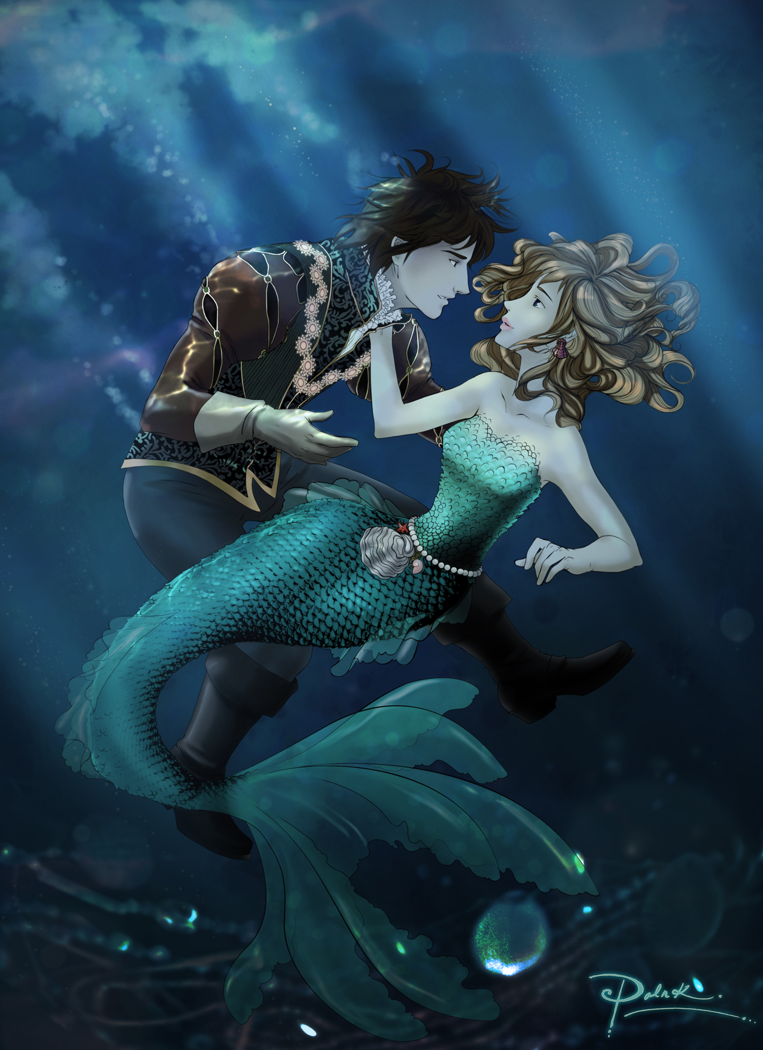 Adventures of d Little Mermaid by palnk on DeviantArt