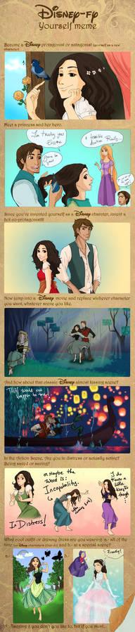 Disney-fy yourself meme filled