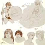 Percy Jackson moaaaar sketches