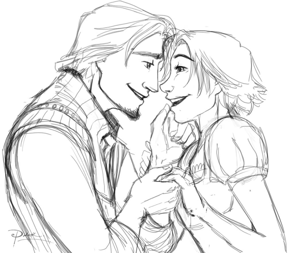 tangled eugene coloring pages - photo#32