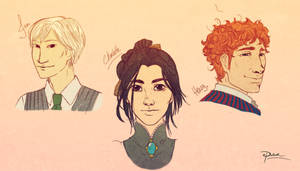 Infernal Devices Characters by palnk