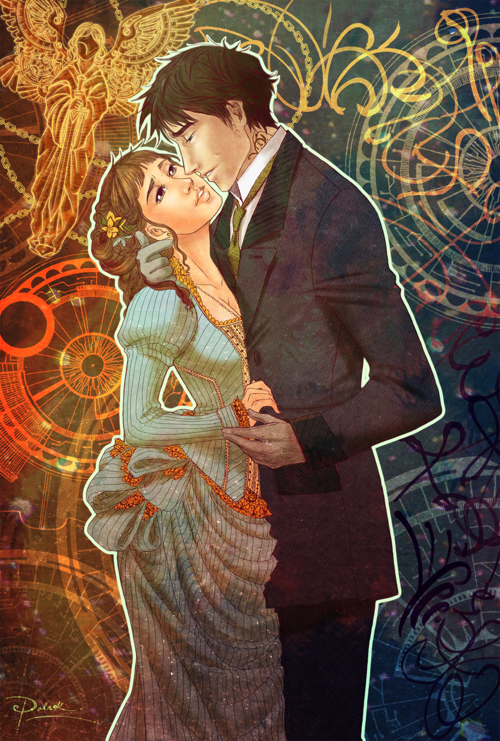 Tessa and Will by palnk on DeviantArt