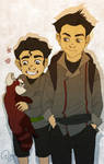 Bolin and Mako by palnk