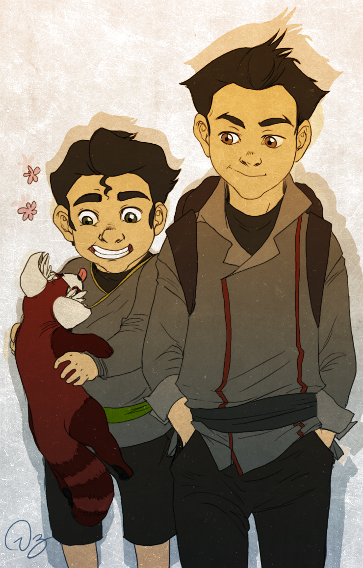 Bolin and Mako by paln...