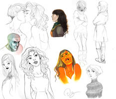 More sketches by palnk