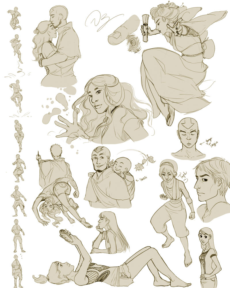 Some sketches 3 by palnk