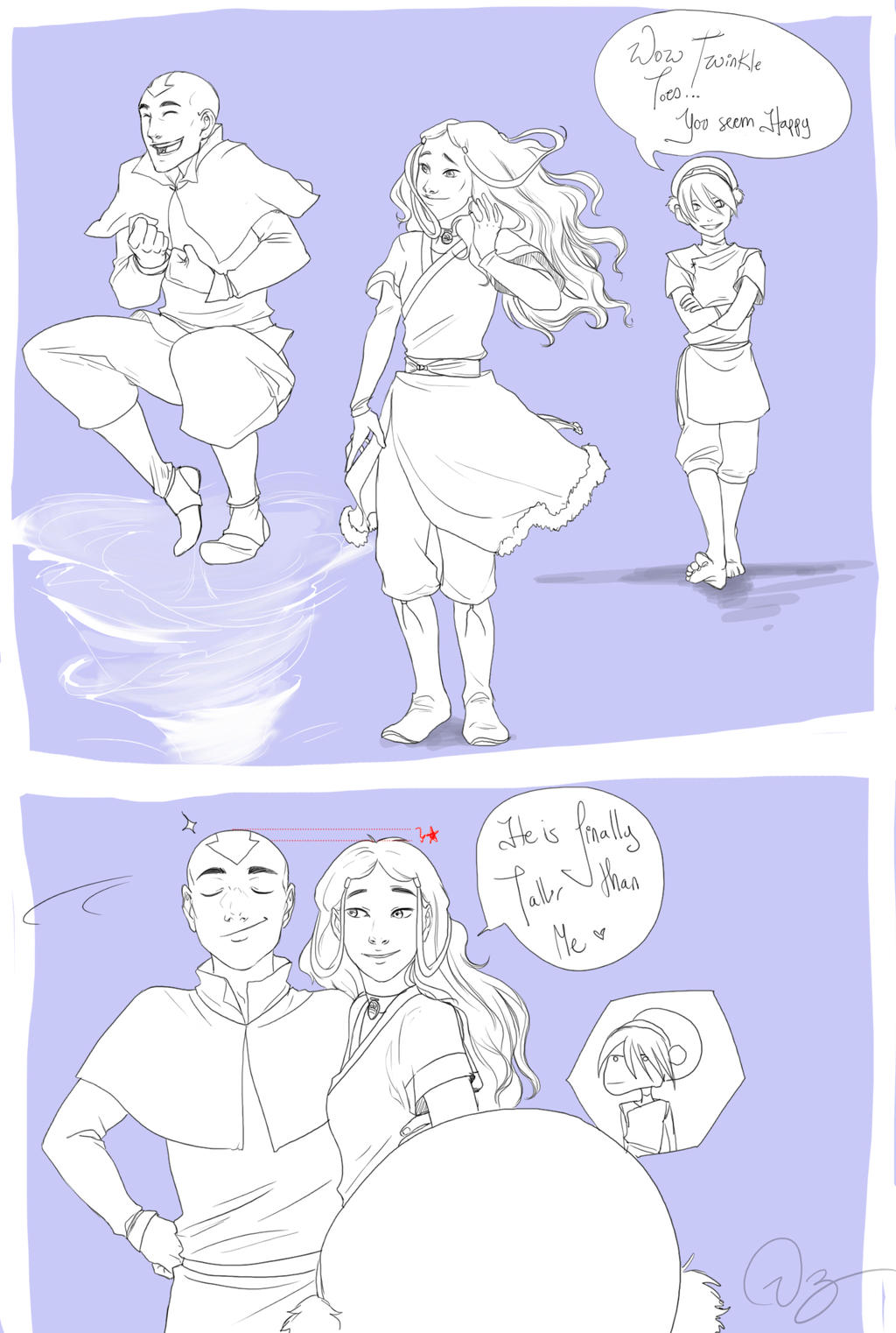 Happy Aang by palnk