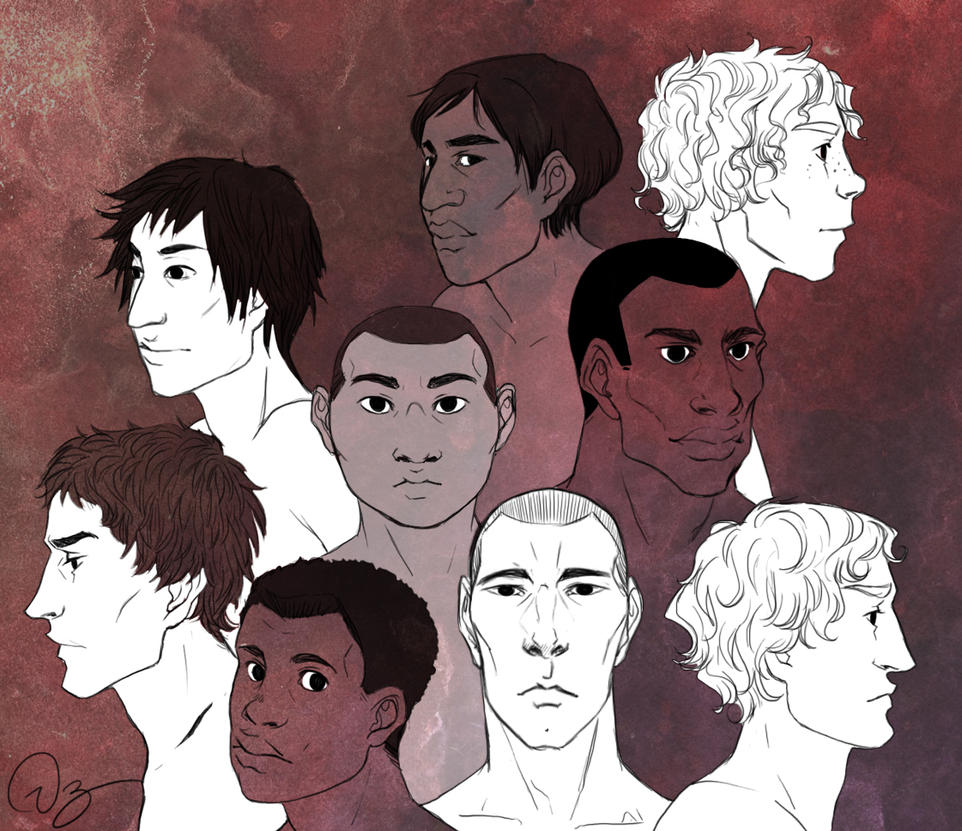 Men Faces by palnk