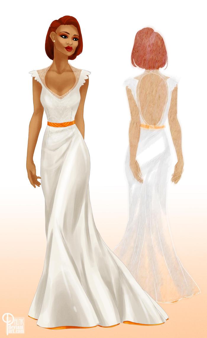 Wedding Dress by palnk