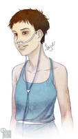 Hazel Grace TFIOS by palnk