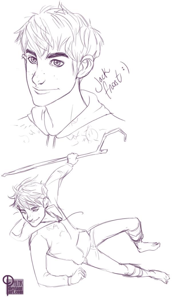 Jack Frost doodles by palnk