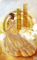 Tessa in Gold by palnk
