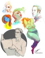 Some September Drawings