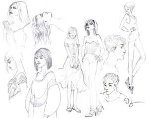 Mechanical Pencil Sketches Quarantine Edition n1