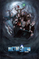 The 11 Doctors by Nickatnite