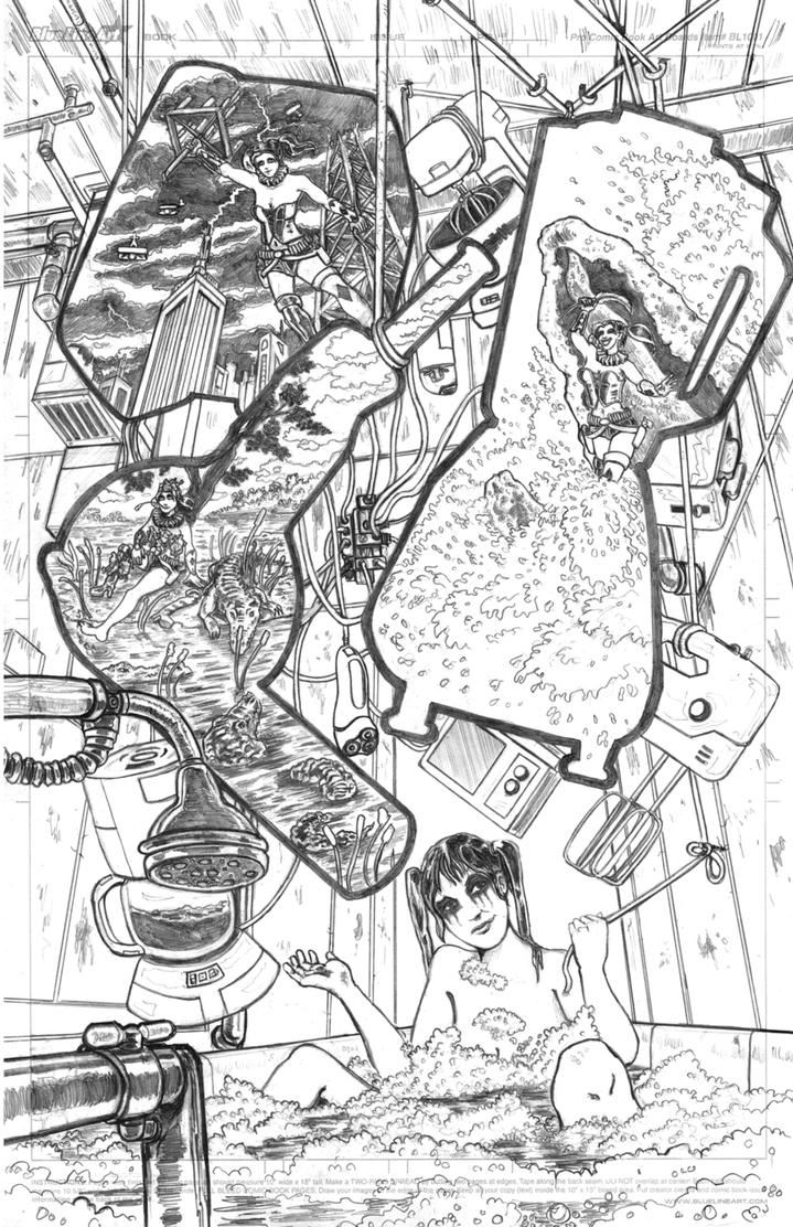 Pencils Submission For the DC Open Art Thingy by Nickatnite