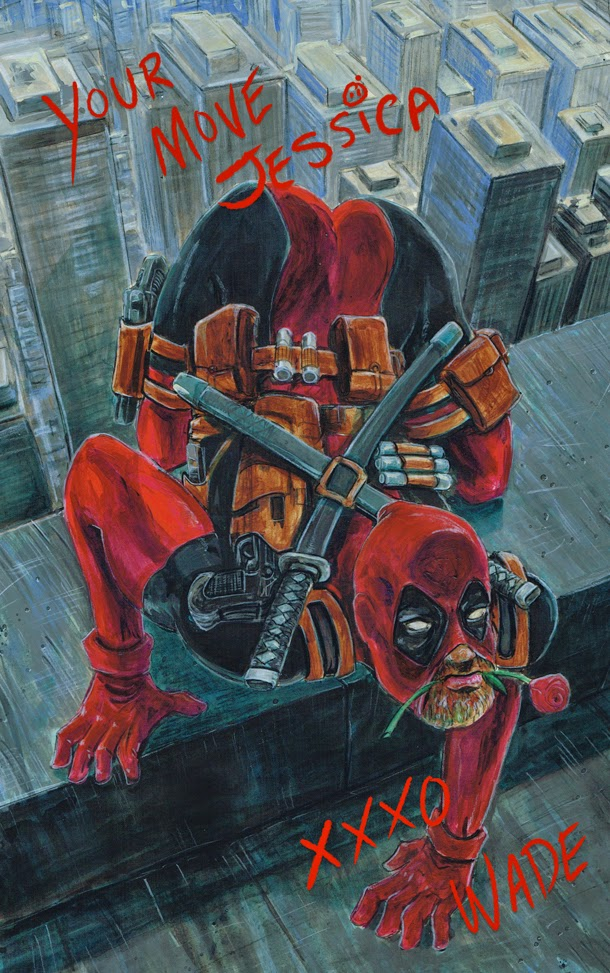 Deadpool and the Timeless Art Of Seduction... by Nickatnite
