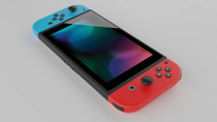Nintendo switch render 1 by crepet9000