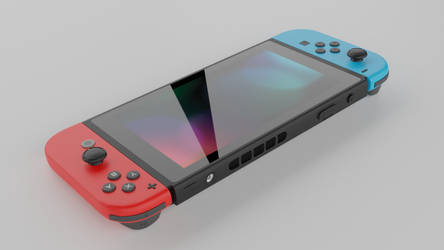 Nintendo switch render 2 by crepet9000
