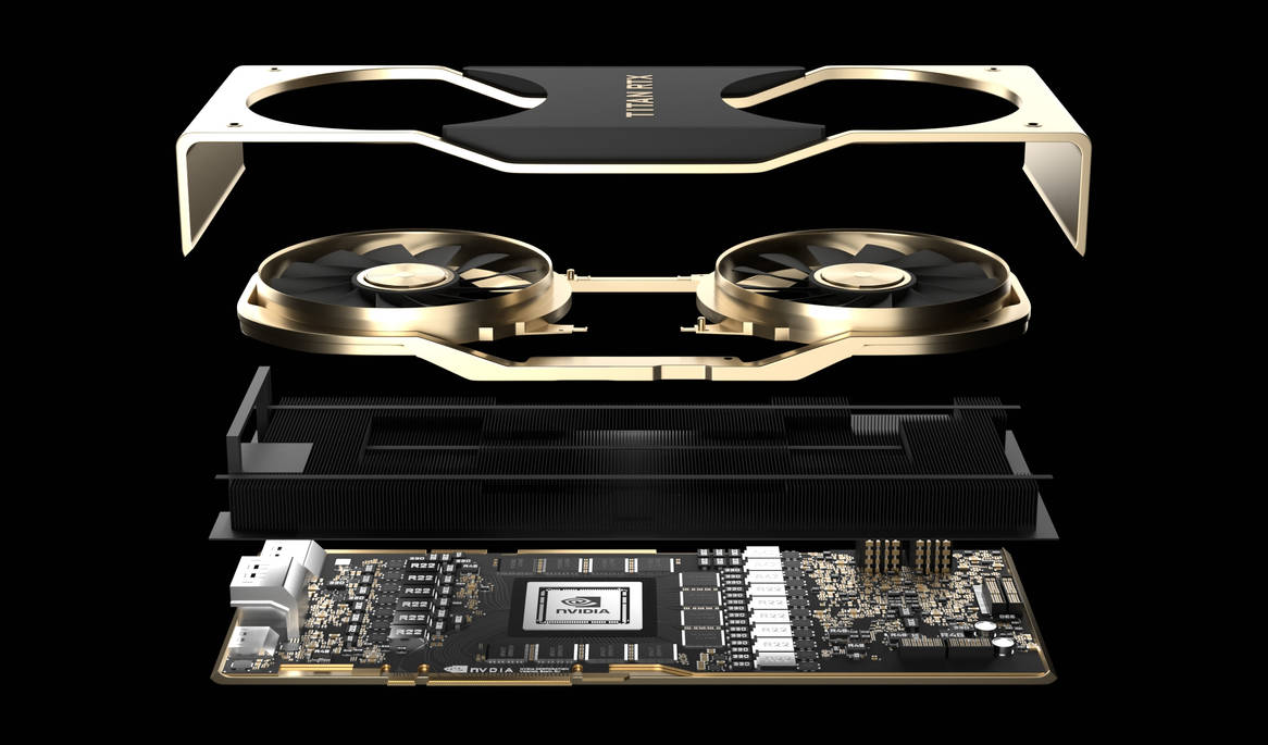 Titan RTX Opened by crepet9000