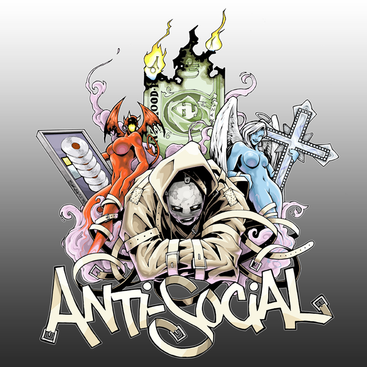 "Garcia - ""Anti-Social"" DVD by SKAM2"
