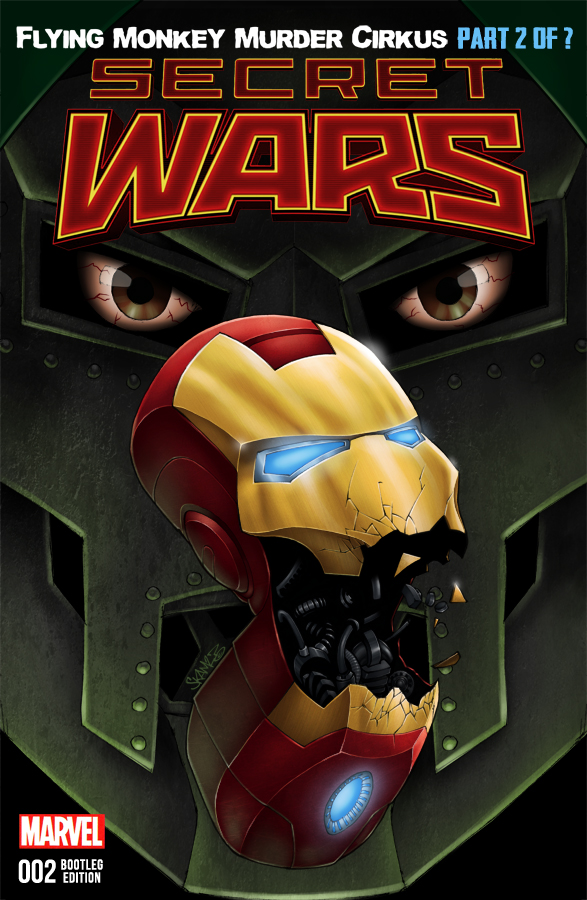 Eminem Vs. Iron Man by SKAM2
