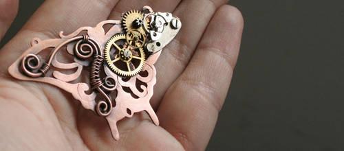 Mechanic Butterfly - W.I.P. by Bodza
