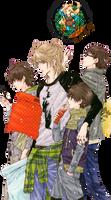 Render Super Lovers Hermanos Kaidou