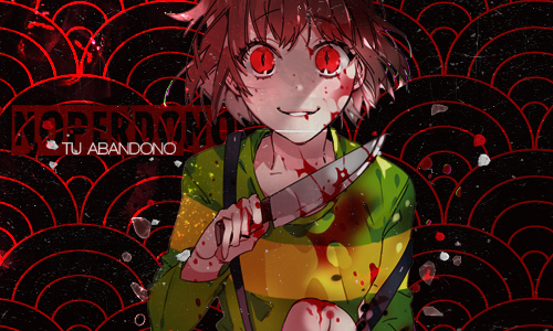 Chara Firma Blood by sPica90