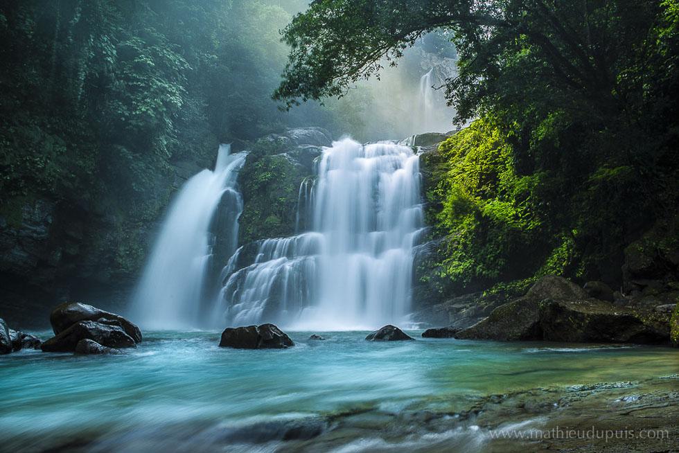 aria maleki natural view of waterfall by ariamaleki