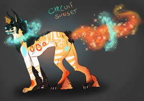 Omen Adopt 1, DTA! Circuit Sunset by ShyPancreas