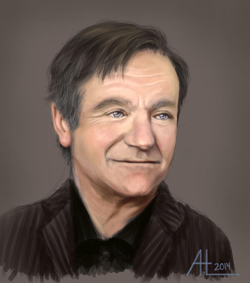 Robin Williams by bugsandbears