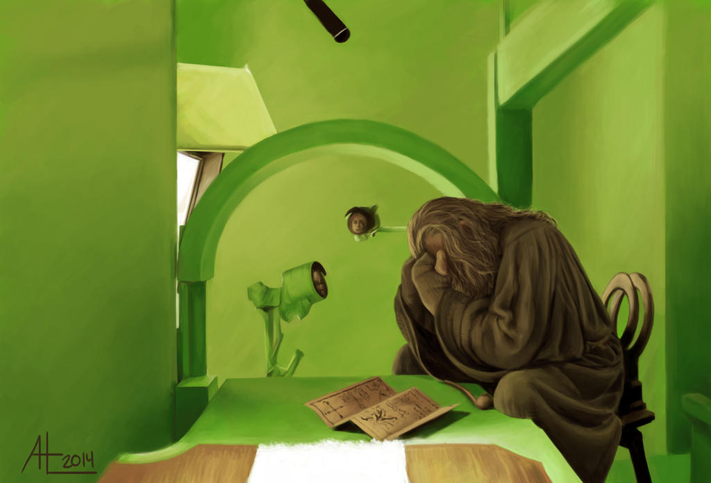 Gandalf The Green by bugsandbears