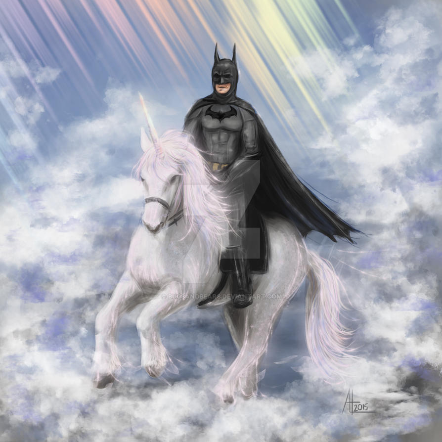 Batman Unicorn by bugsandbears