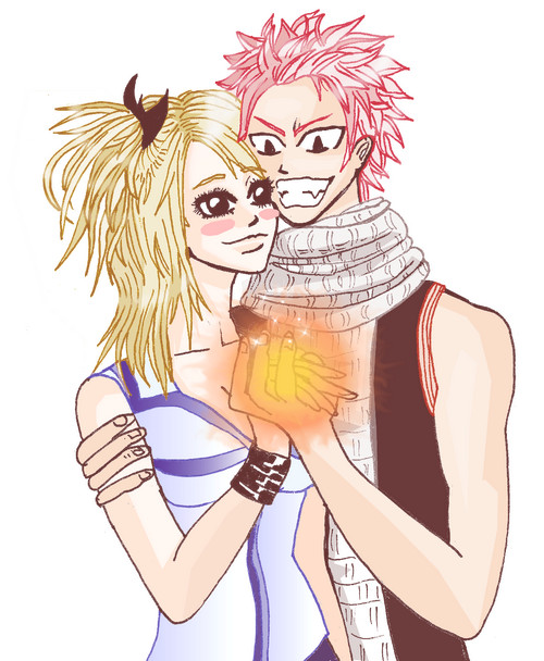 Fairytail : Natsu And lucy by MangiE-31